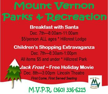 Mount Vernon Santa Breakfast