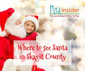 Where To See Santa In Skagit County