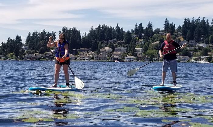 Stand Up Paddleboard Northwest Paddle Surfers
