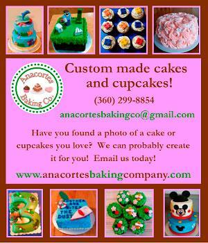 Anacortes Backing Company Custom Cakes & Cupcakes