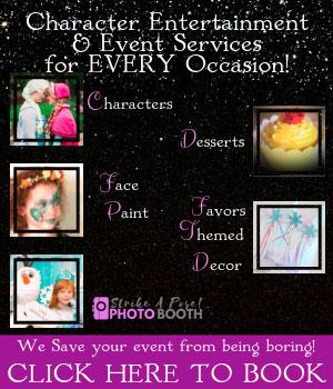 Enchanting Events Characters Photo Booth 2019