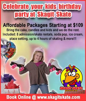 Skagit Skate Birthday Parties 2019