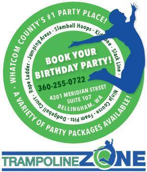 Trampoline Zone Birthday Parties 2018
