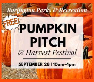Burlington Harvest Festival & Pumpkin Pitch 2019