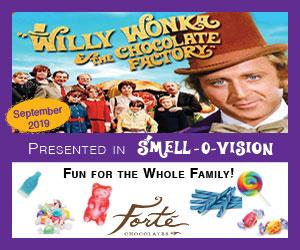 Forte Chocolates Willy Wonka Smell-O-Vision