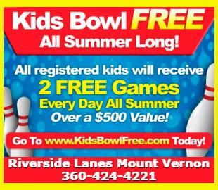 Riverside Lanes Kids Bowl Free