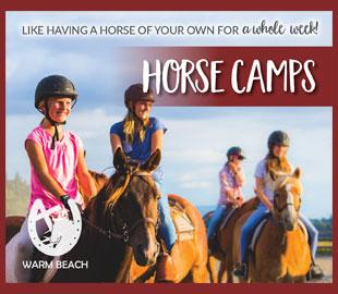 Warm Beach Youth Summer Horse Camps