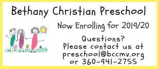 Bethany Christian Preschool 2019