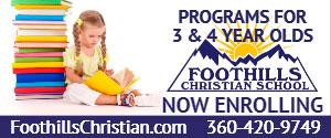 Foothills Christian Preschool  2018